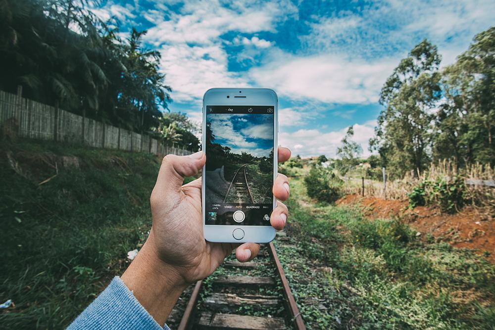 telefon si sine de tren